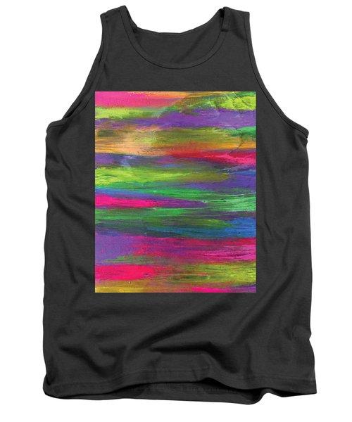 Neon Rainbow Tank Top
