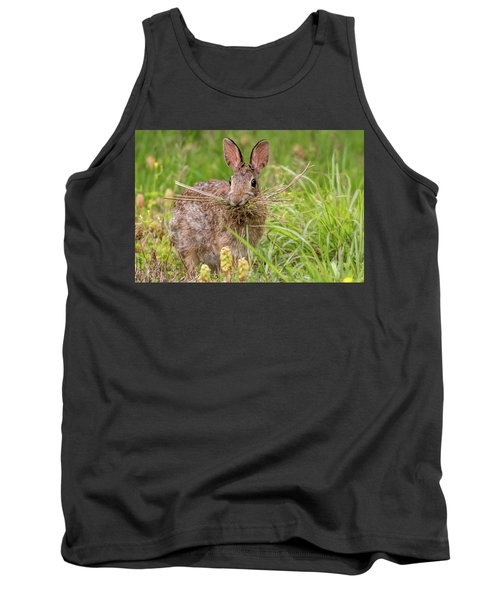 Nesting Rabbit Tank Top by Terry DeLuco