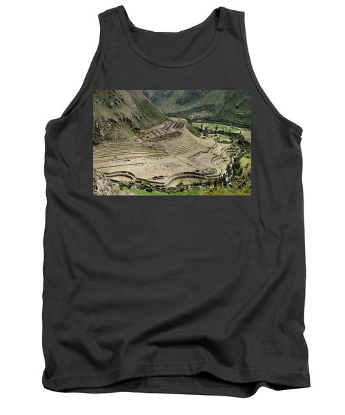 Nestled At The Foot Of A Mountain Tank Top