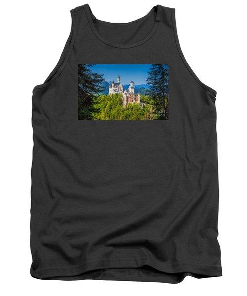 Neuschwanstein Fairytale Castle #2 Tank Top by JR Photography