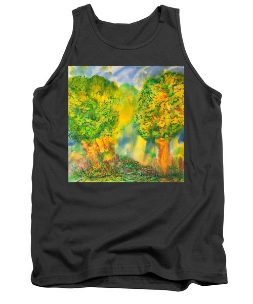 Never Give Up On Your Dreams Tank Top by Susan D Moody