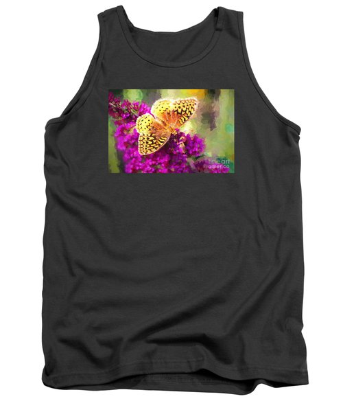 Never Hide Your Wings Tank Top by Tina LeCour