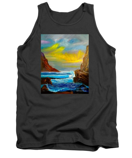 New Day In Paradise Tank Top