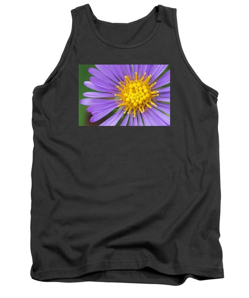 New England Aster Tank Top