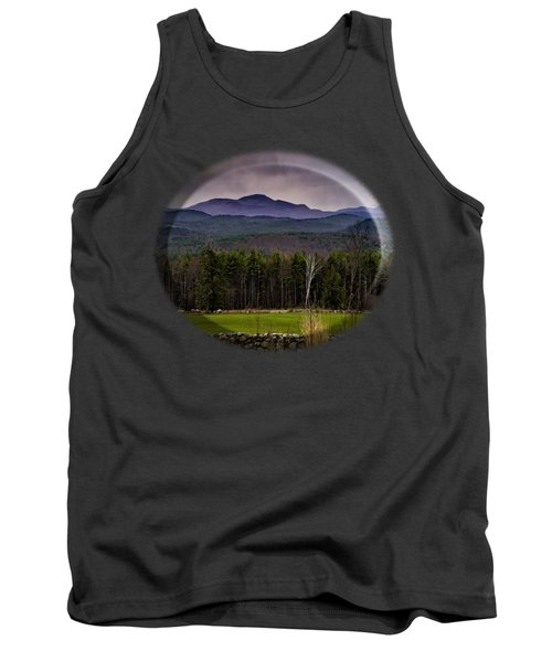 Tank Top featuring the photograph New England Spring In Oil by Mark Myhaver