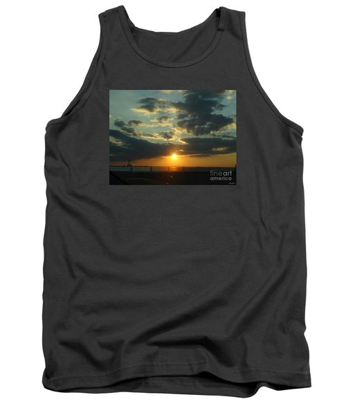 Tank Top featuring the photograph New Horizon by Lyric Lucas