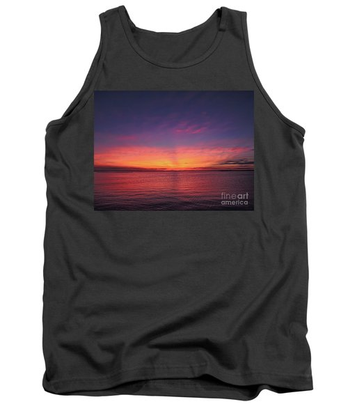 New Jersey Shore Sunset Tank Top