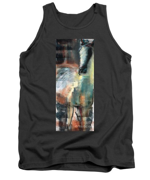 Tank Top featuring the pastel New Mexico Horse Three by Frances Marino