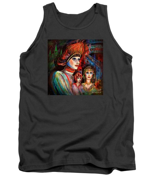 New Orleans Live Mannequins Tank Top