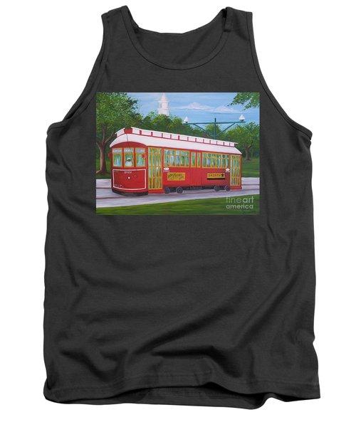 New Orleans Streetcar Tank Top