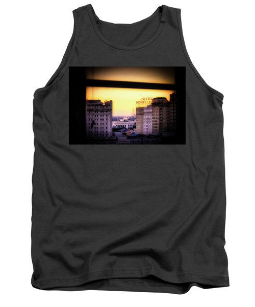 Tank Top featuring the photograph New Orleans Window Sunrise by Jim Albritton