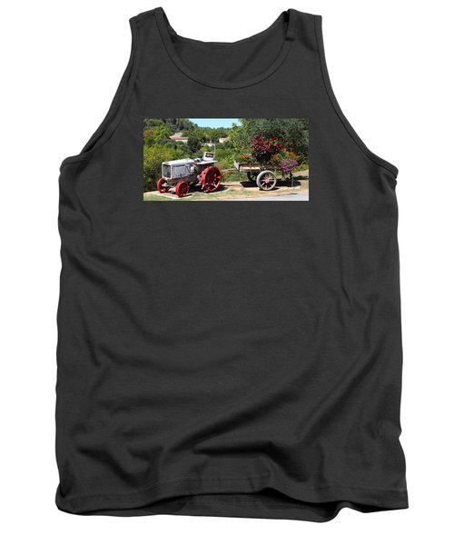 Tank Top featuring the photograph New Pastures by Richard Patmore