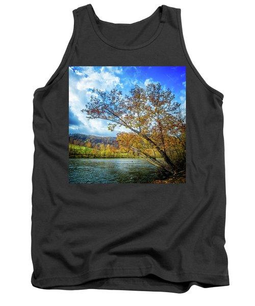 New River In Fall Tank Top