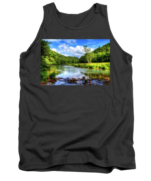 New River Summer Tank Top by Dale R Carlson