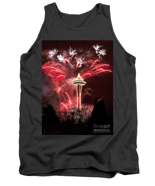 New Years At The Space Needle Tank Top