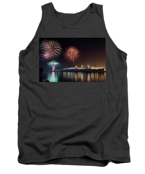New Years With The Queen Mary Tank Top