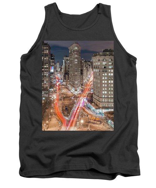 New York Big City Rush Hour Tank Top