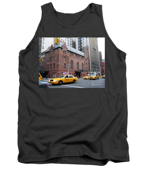 New York City Yellow Cab  - Amsterdam -  West Seventy Sixth Tank Top