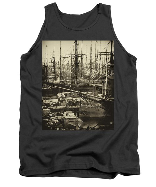 New York City Docks - 1800s Tank Top