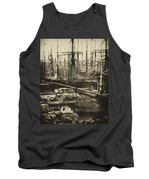 New York City Docks - 1800s Tank Top