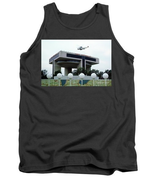 New York City Port Authority Helicopter Pad, New York World's Fa Tank Top