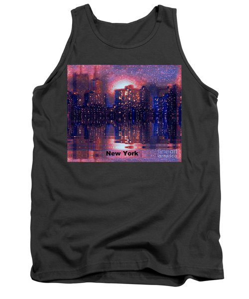 New York Tank Top by Holly Martinson