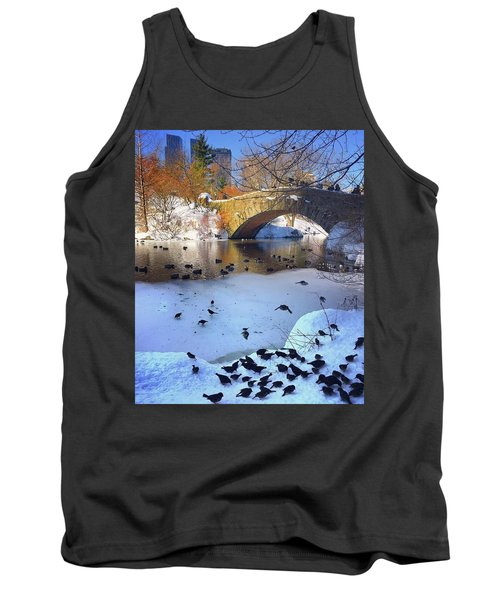 New York In The Winter Tank Top