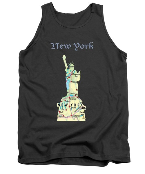 New York Tank Top by Art Spectrum