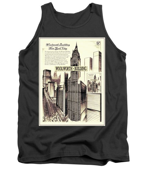 New York Woolworth Building 75 Tank Top