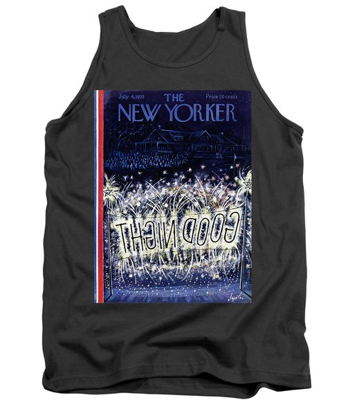 New Yorker July 4 1953 Tank Top