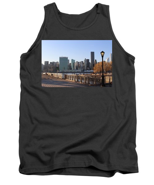 New York's Skyline - A View From Gantry Plaza State Park Tank Top