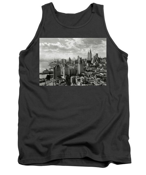 New Your City Skyline Tank Top by Jon Neidert