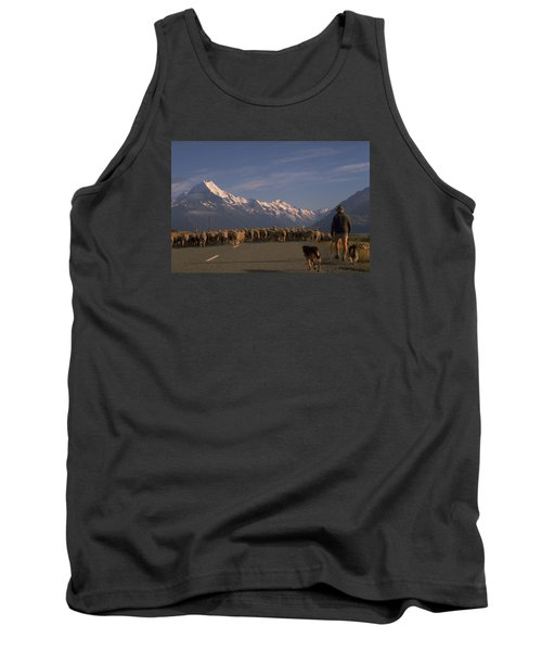 New Zealand Mt Cook Tank Top by Travel Pics
