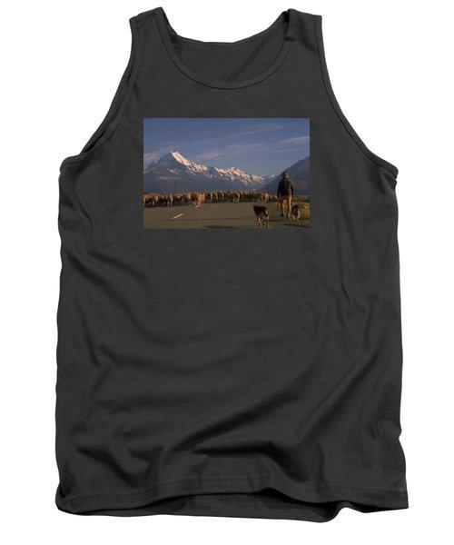 New Zealand Mt Cook Tank Top