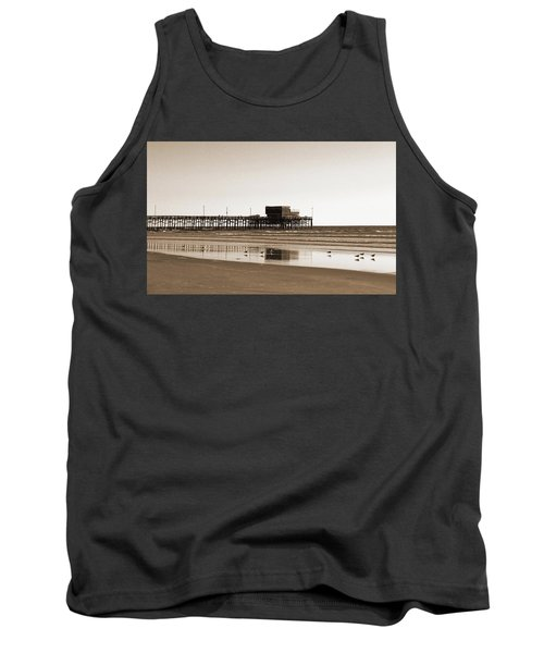 Newport Beach Pier Tank Top
