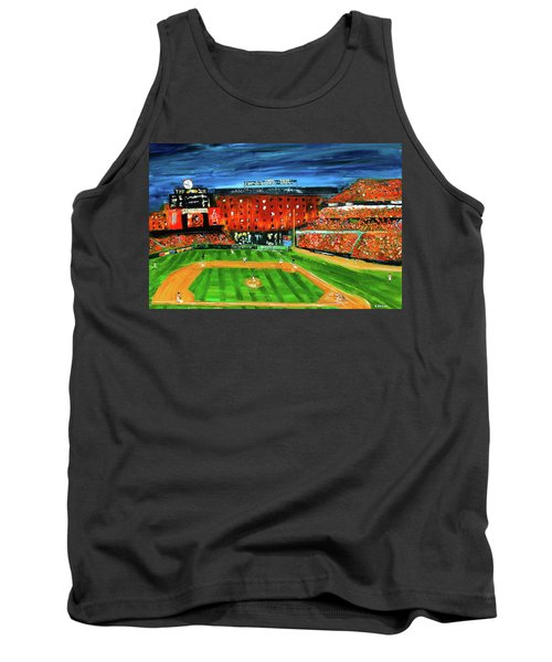 Night At The Yard Tank Top