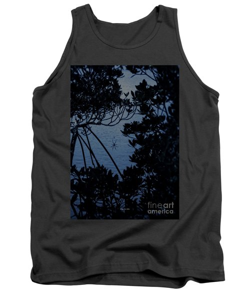 Tank Top featuring the photograph Night Banana Spider by Megan Dirsa-DuBois