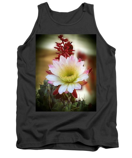Tank Top featuring the photograph Night-blooming Cereus 2 by Marilyn Smith