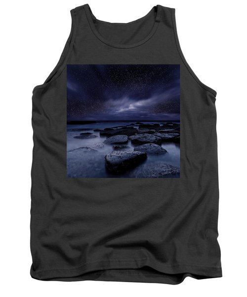 Night Enigma Tank Top by Jorge Maia