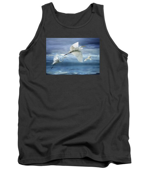 Night Flight Tank Top by Brian Tarr