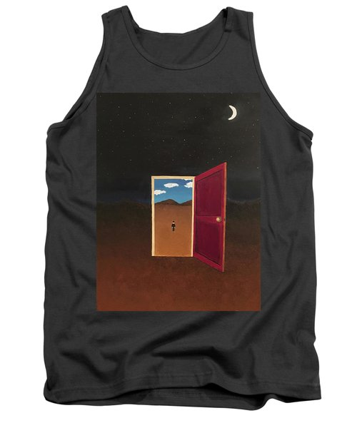 Night Into Day Tank Top by Thomas Blood