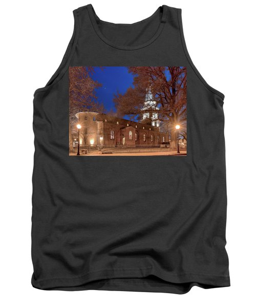 Night Lights St Anne's In The Circle Tank Top