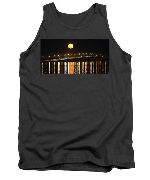 Night Of Lights Tank Top by Gary Smith