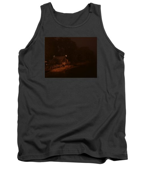 Night On The River Tank Top