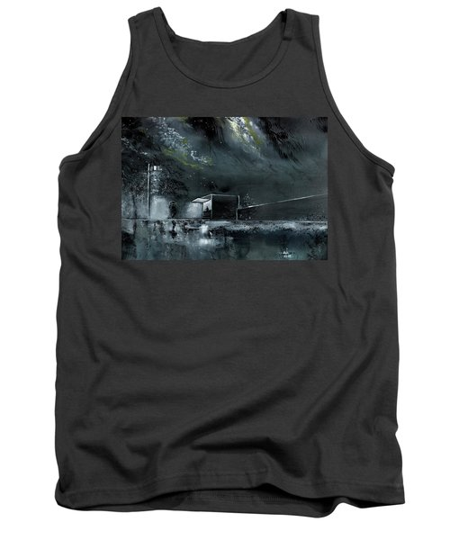 Night Out Tank Top by Anil Nene