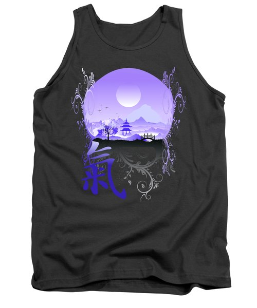 Tank Top featuring the photograph Night Qi by Robert G Kernodle