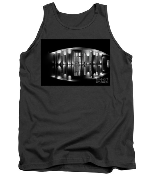 Night Reflection Tank Top by M G Whittingham