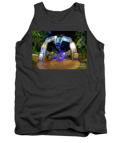 Night Ride On The Rock And Roll Coaster Tank Top