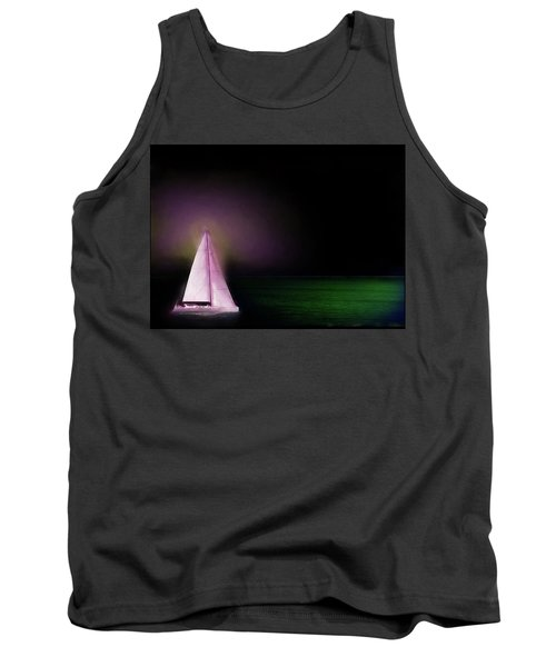 Night Sailing Tank Top by Michael Cleere
