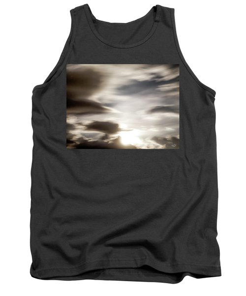 Tank Top featuring the photograph Night Sky 4 by Leland D Howard